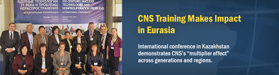 CNS Training Makes Impact in Eurasia