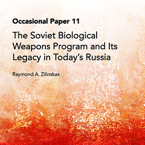 "Cover of ""The Soviet Bioweapons Program and Its Legacy"""